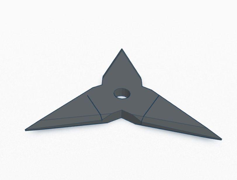 3D Print Model Ninja Star V3