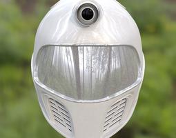 3D model Robotic Space Helmet