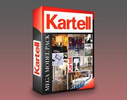 Kartell Models Mega Pack - 120 Models VR / AR ready