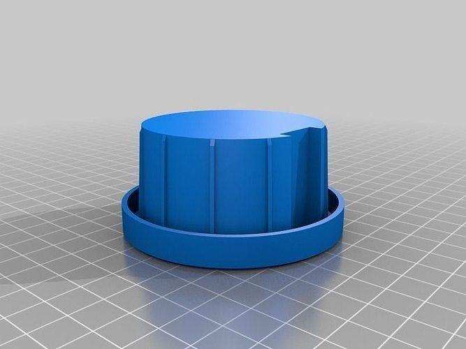 Fence Pole Cap Free 3d Model 3d Printable Stl Cgtrader Com