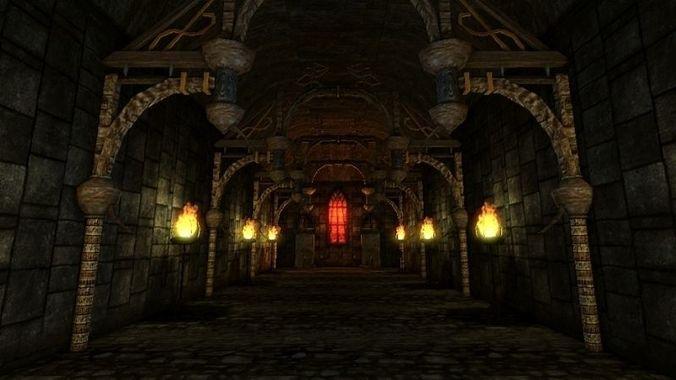 fantasy pack ii - underworld - free release 3d model low-poly obj mtl fbx X dbo tga 1