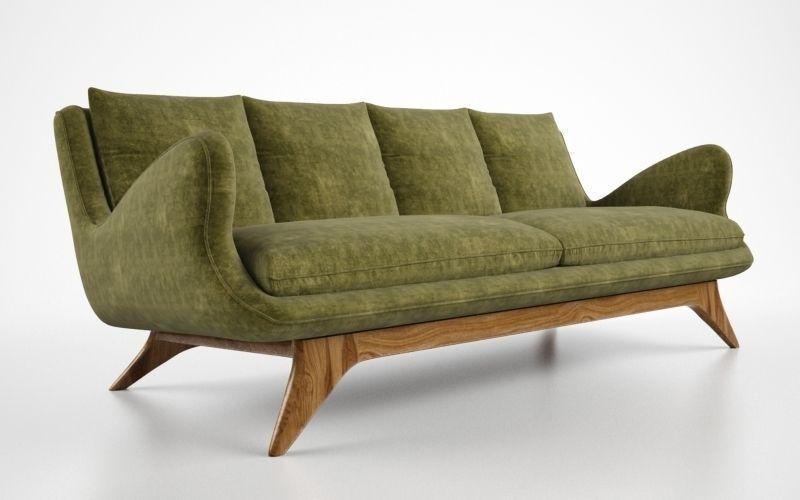 ... Vladimir Kagan Venetian Sofa 3d Model Max Obj Fbx 2 ...