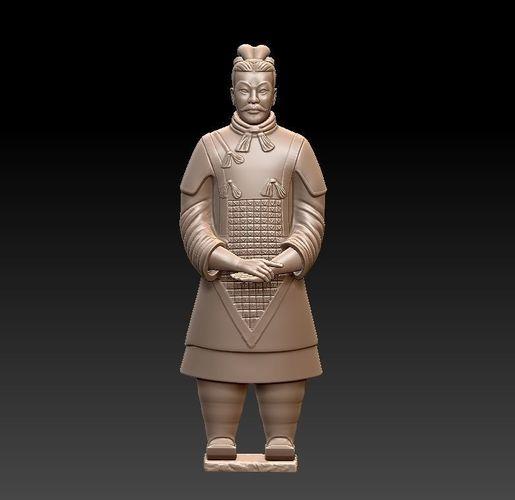 terracotta army 3d model stl 1