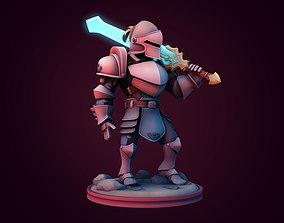 Energy knight 3D print model