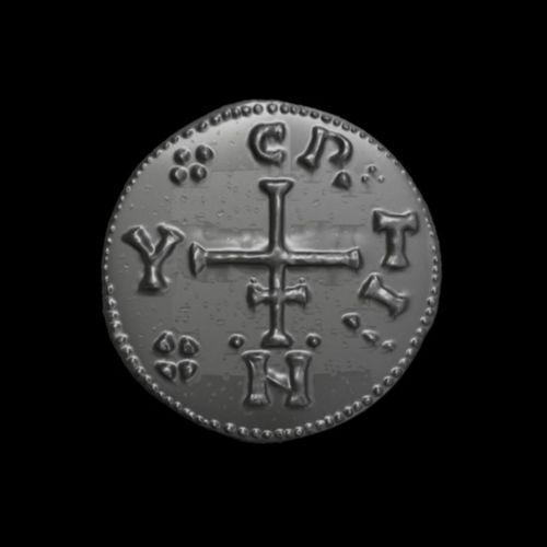 viking coin 3d model obj mtl 1