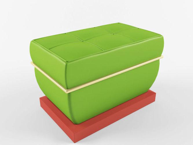 soft chair 3d model max obj mtl fbx 1