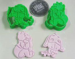 Eeyore Cookie Cutter 3D print model