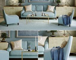 3D model Baker Livingroom set