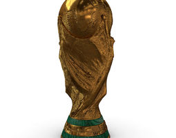 3D asset FIFA World Cup Trophy - Low Res