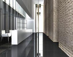 3d model corridor 029