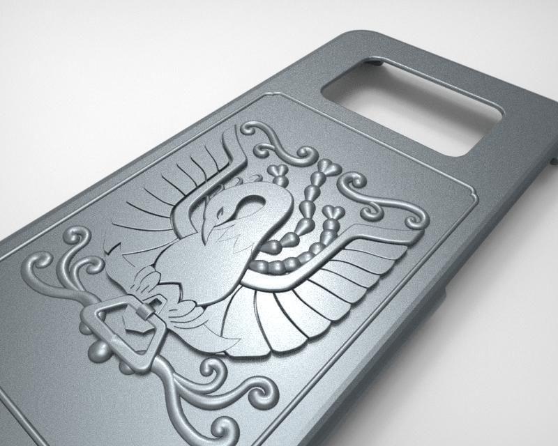 Phoenix Pandora box Samsung S8 phone case from Saint Seiya