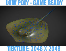 Ray fish 3D model