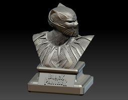 Black Panther Bust 3D print model