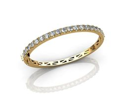 Beautiful Diamond Bracelets 3D print model