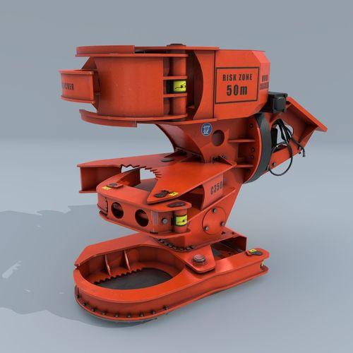 woodcracker 3d model low-poly obj fbx blend mtl 1