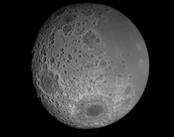 3D model 23K Realistic Moon