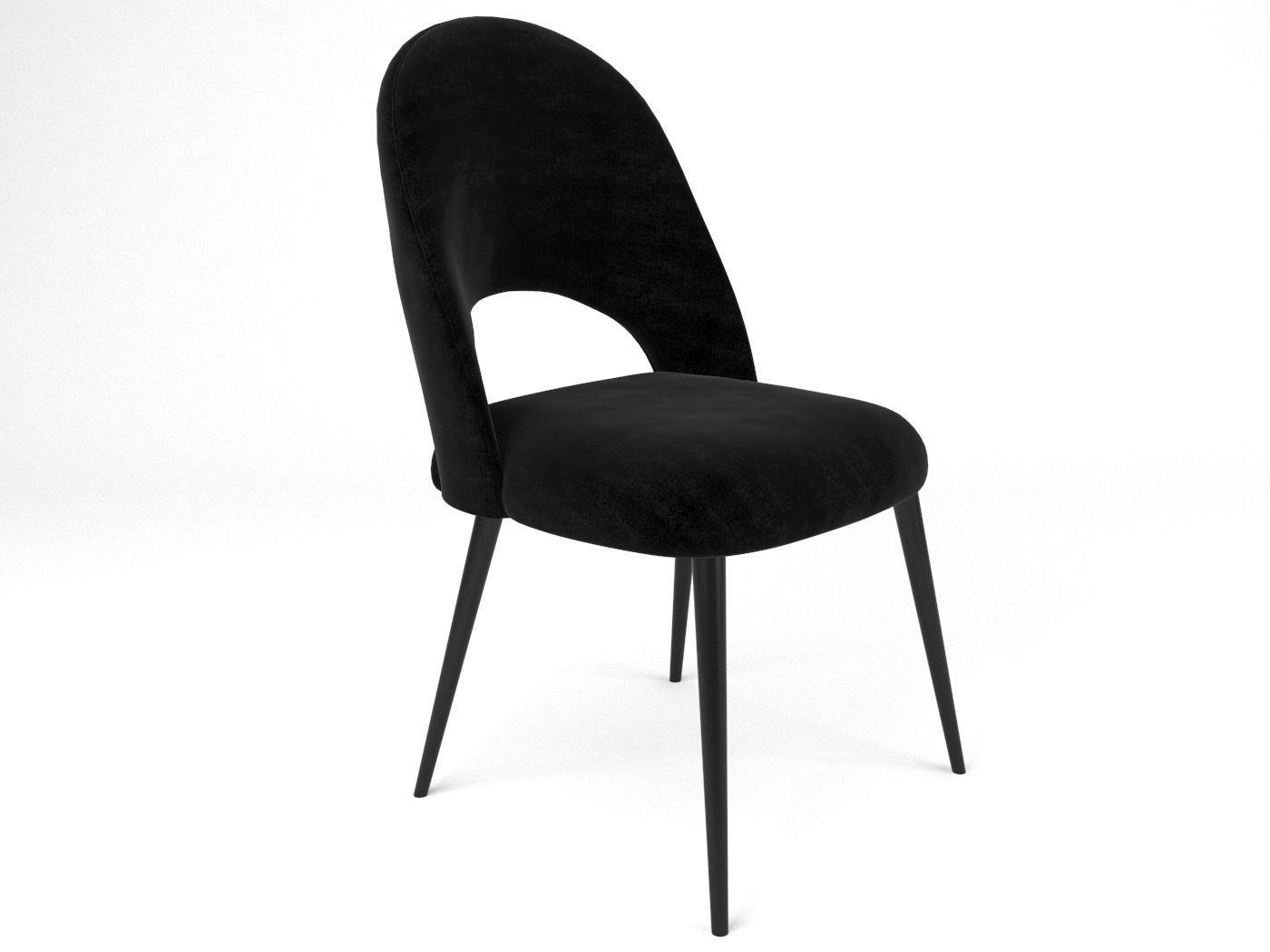 Chair Iris Noir MAISONS DU MONDE