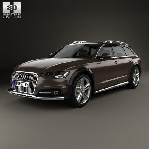 Audi A6 C7 Allroad 2015 c7 3D model | CGTrader