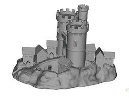 3D printable model castle