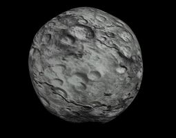 realtime animated animated hd asteroid model