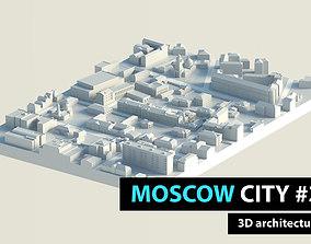 3D asset Moscow City Fabrika Marata Territory