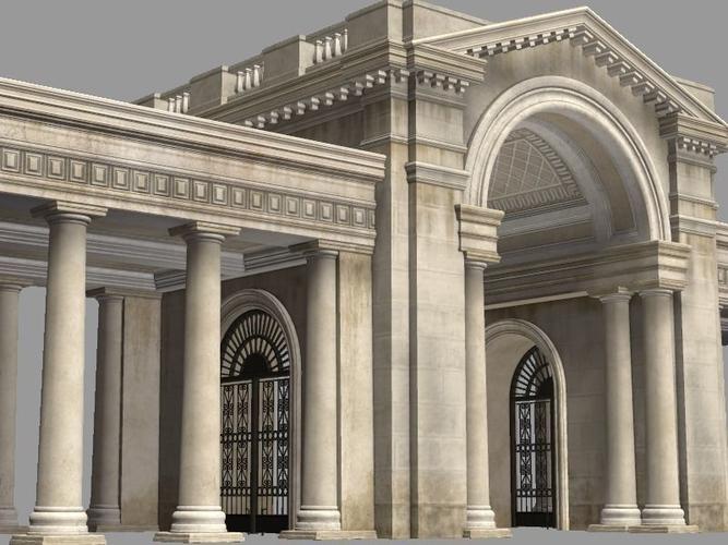 European Door Gate 3D model & 3D European Door Gate | CGTrader