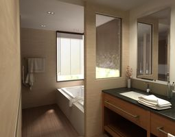 Bathroom 06 3D model