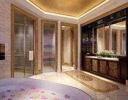 3D bathroom design complete model 150