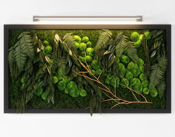 panel green 02 3D
