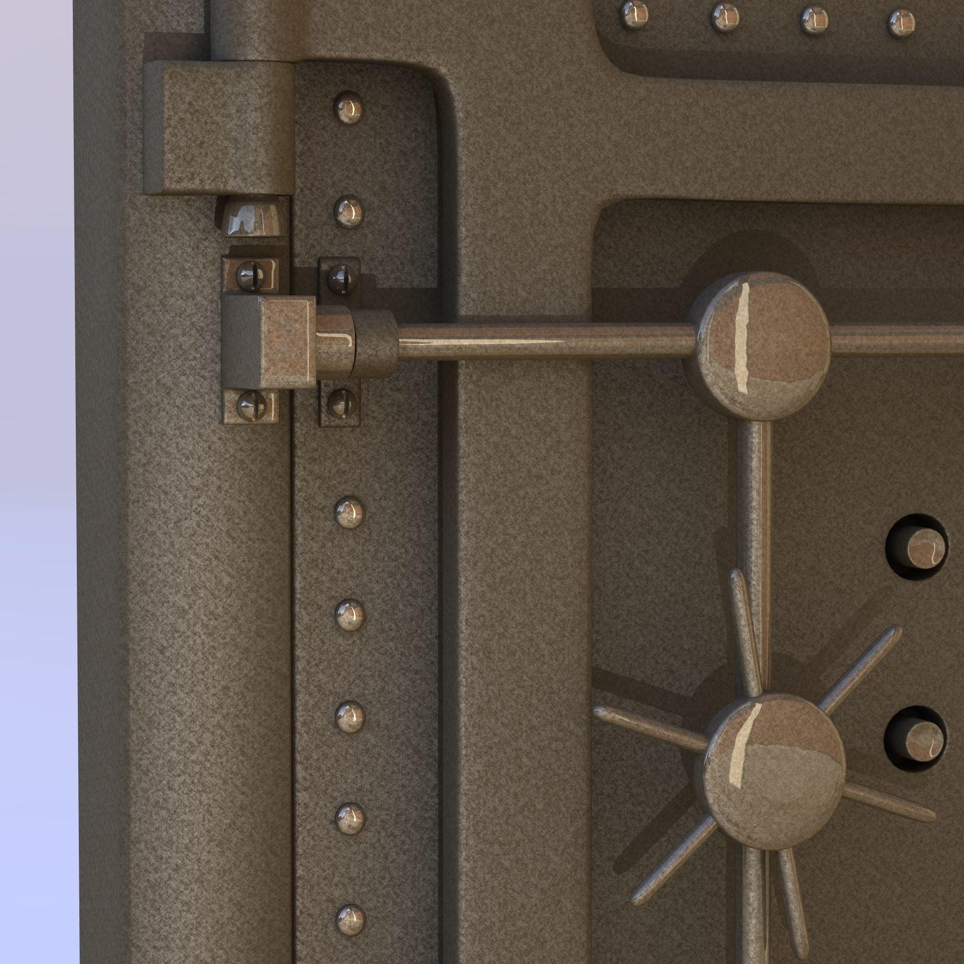 Beautiful Vault Door Handle Contemporary Home Decorating Ideas