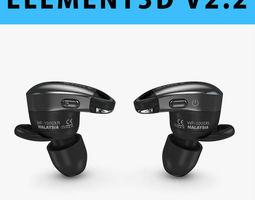 E3D - Sony 1000X Wireless Noise Canceling Headphones 3D