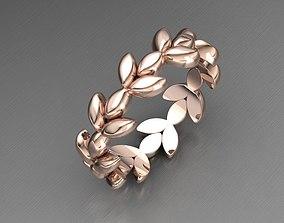 Leave Ring 3D print model