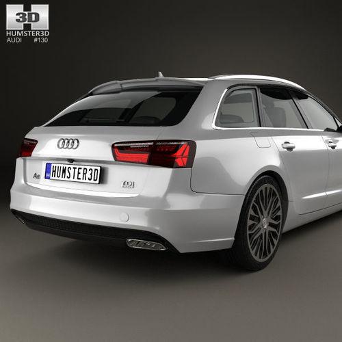 3D model Audi A6 C7 avant 2015 | CGTrader on audi c7 s7, audi rs6, audi b6 a4, audi b8 a4, audi gt,