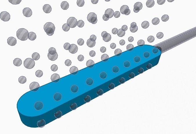 aquarium gravel bubbler 3d model stl 1