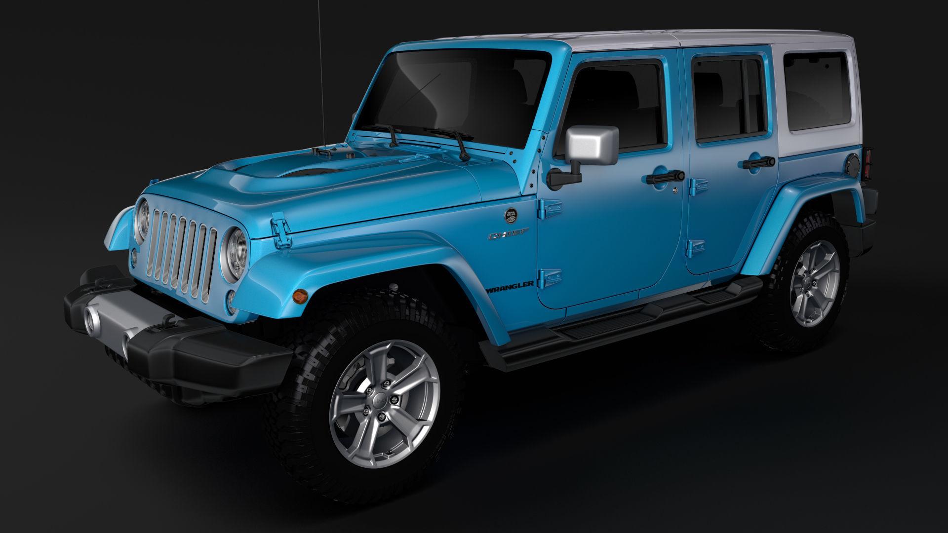 Jeep Wrangler Unlimited Chief Jk 2017 Model