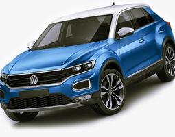 3D model VW T-Roc 2018