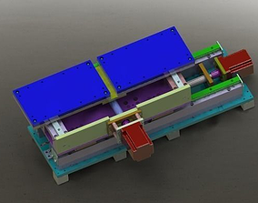 3D model Working stage module