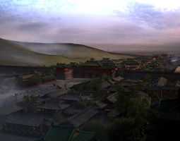 3D model Southern Song Dynasty City - Imperial City 2