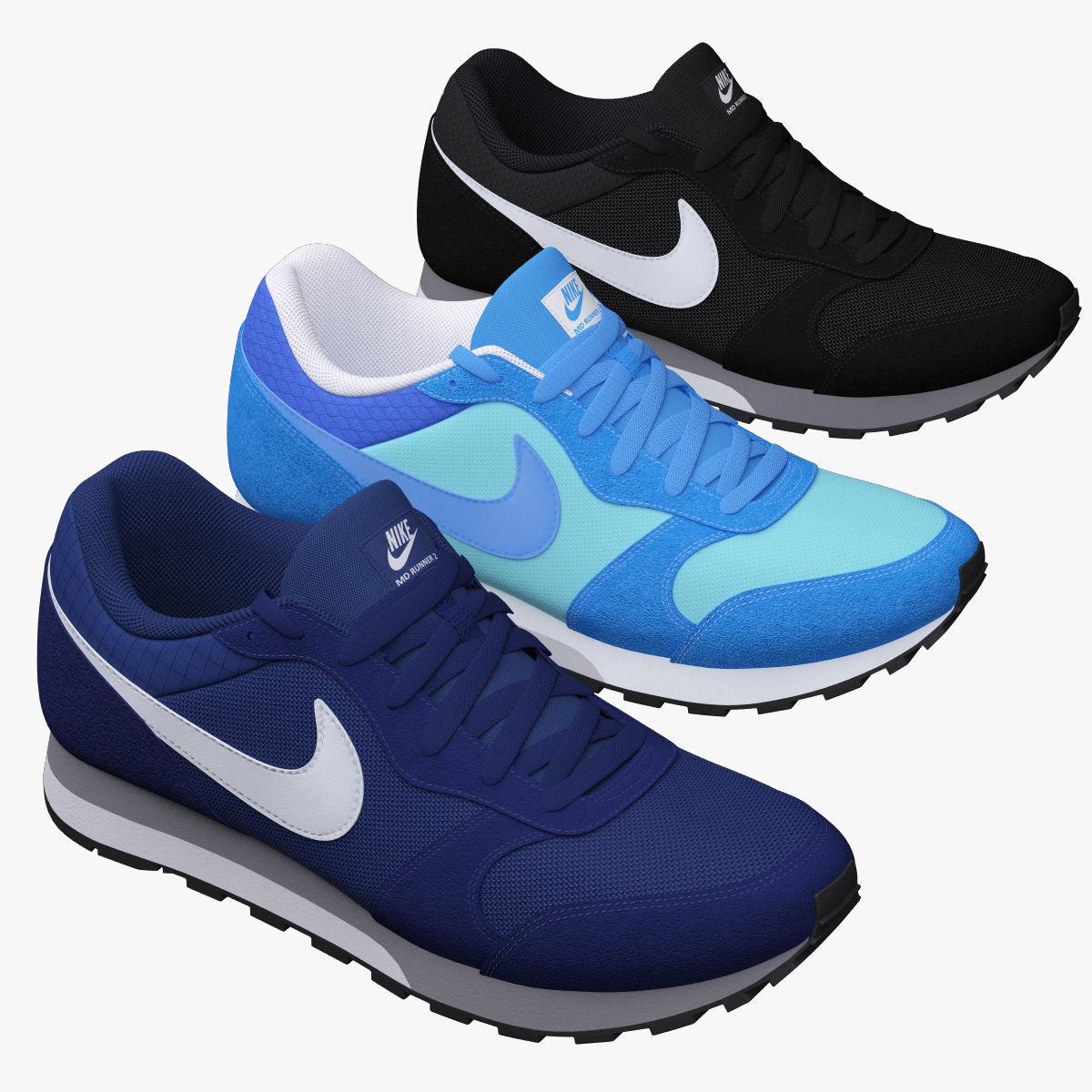 3D Nike MD Runner 2 | CGTrader