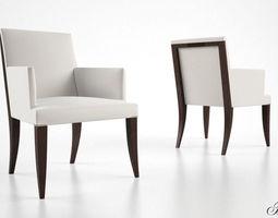 3d baker atelier dining armchair