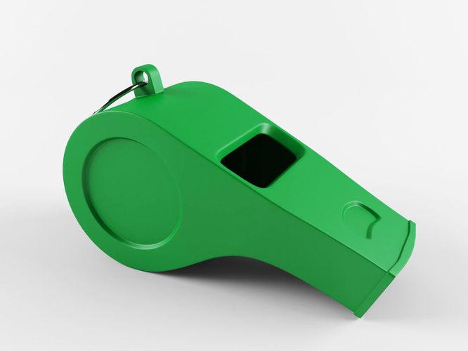 whistle 3d model max obj mtl fbx 1