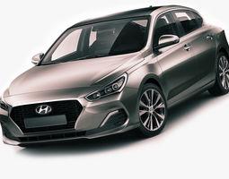Hyundai i30 Fastback 2018 3D