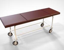 doctors 3D medical cart