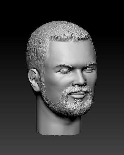 bearded guy 3d model max obj mtl stl 1