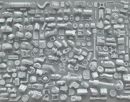 Kit bash-271 pieces- part-7 3D