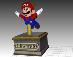 Raccoon Mario 3D Printable