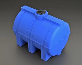 Polypropylene barrel 3D model