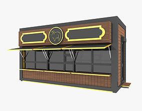 3D model City Commercial Pavilion