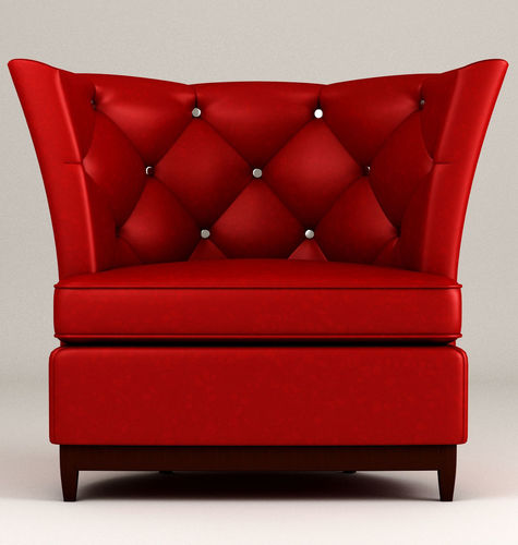 Princeville Tufted Barrel Chair Leather 3d Model Max 1 ...