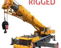 Crane liebherr 3D